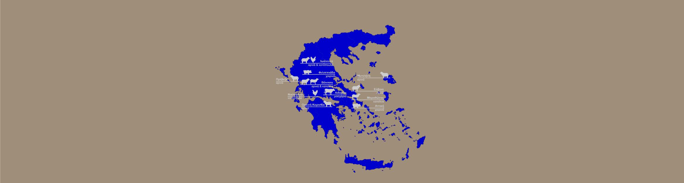 Κρεοπωλεία Ρούσσης Ελληνικά Κρέατα
